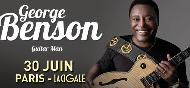 La Cigale - Paris - GEORGE BENSON