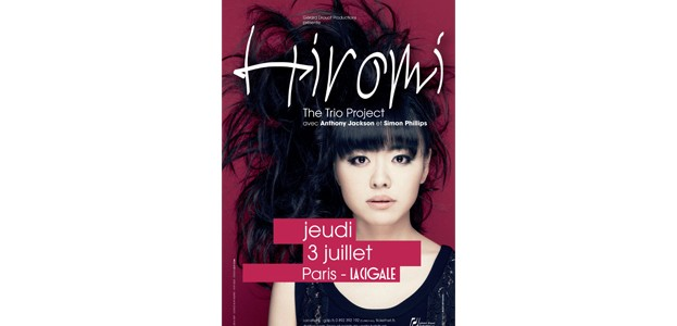 La Cigale - Paris - HIROMI : THE TRIO PROJECT