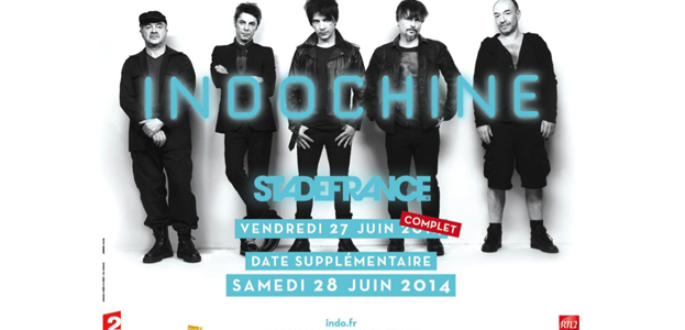 La Cigale - Paris - INDOCHINE
