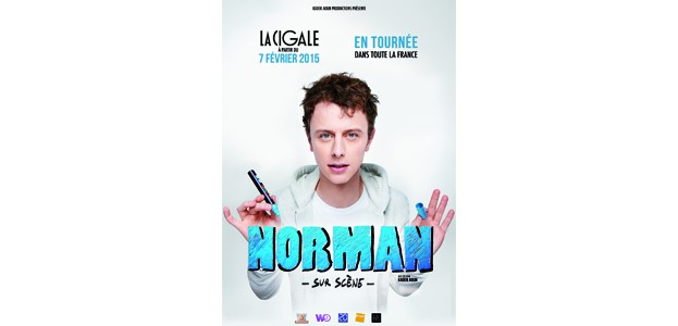 La Cigale - Paris - NORMAN SUR SCENE