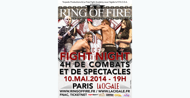 RING OF FIRE 3 / FIGHT NIGHT