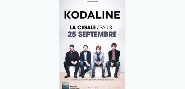 La Cigale - Paris - KODALINE