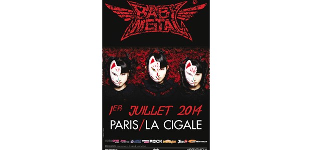 La Cigale - Paris - BABY METAL