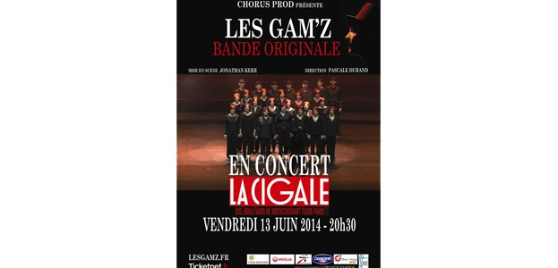 La Cigale - Paris - LES GAM'Z