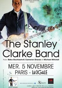 La Cigale - Paris - THE STANLEY CLARKE BAND