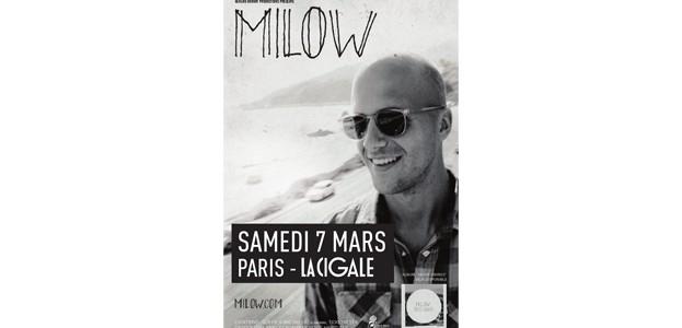 La Cigale - Paris - MILOW