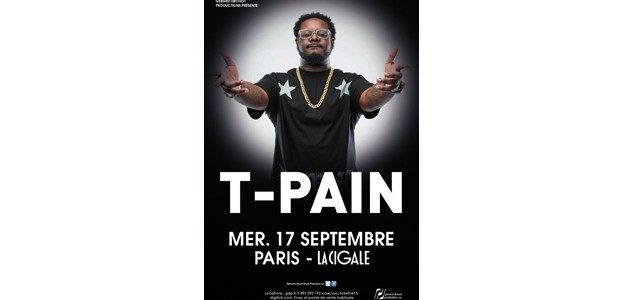 La Cigale - Paris - T-PAIN