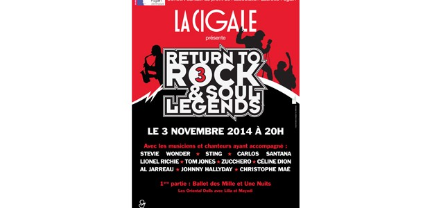 La Cigale - Paris -  Return to Rock & Soul Legends 3