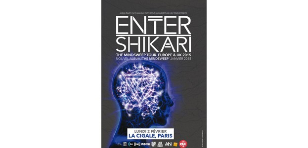 La Cigale - Paris - ENTER SHIKARI