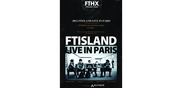 La Cigale - Paris - FTISLAND