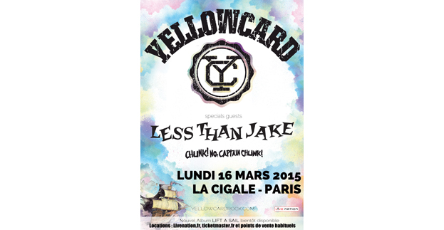 YELLOWCARD + LESS THAN JAKE