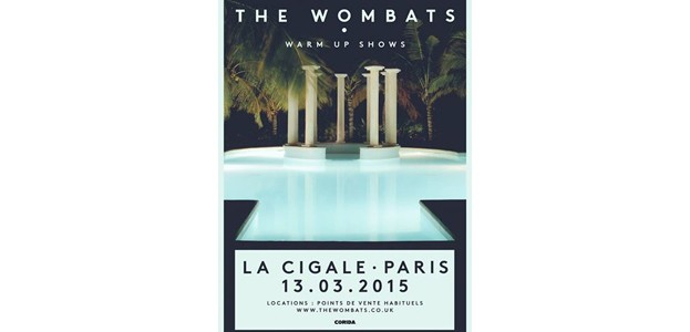 La Cigale - Paris - THE WOMBATS