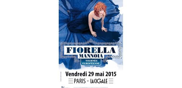 La Cigale - Paris - FIORELLA MANNOIA