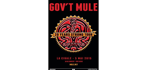 La Cigale - Paris - GOV'T MULE