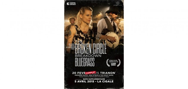 La Cigale - Paris - THE BROKEN CIRCLE BREAKDOWN BLUEGRASS BAND
