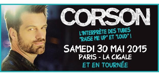 La Cigale - Paris - CORSON