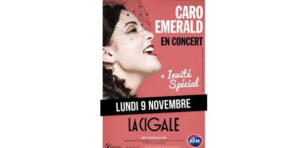 La Cigale - Paris - CARO EMERALD