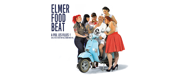 La Cigale - Paris - ELMER FOOD BEAT