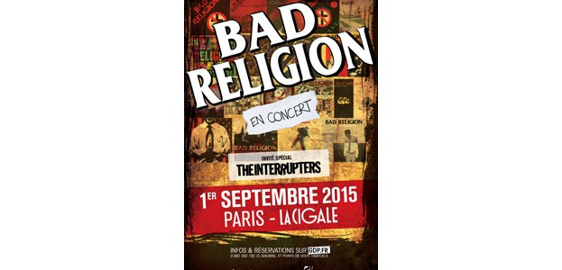 La Cigale - Paris - BAD RELIGION