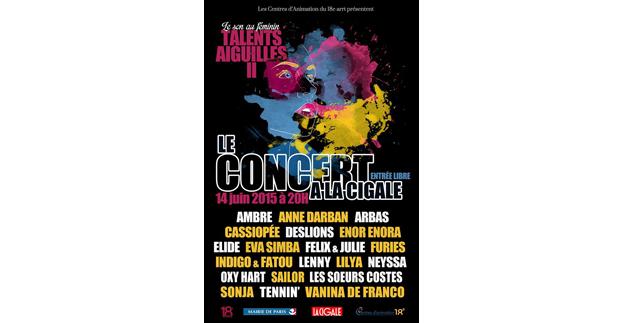 LE SON AU FEMININ : TALENTS AIGUILLES II