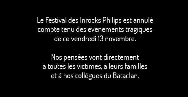 FESTIVAL LES INROCKS PHILIPS