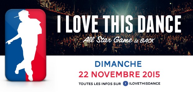 La Cigale - Paris - I LOVE THIS DANCE ALL STAR GAME