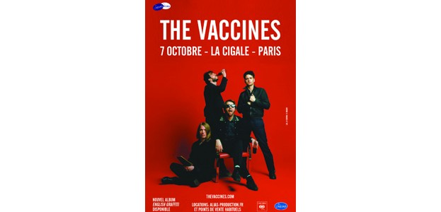 La Cigale - Paris - THE VACCINES
