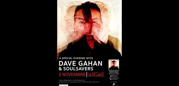 La Cigale - Paris - DAVE GAHAN & SOULSAVERS