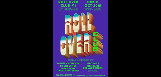 La Cigale - Paris - Roll Over Club