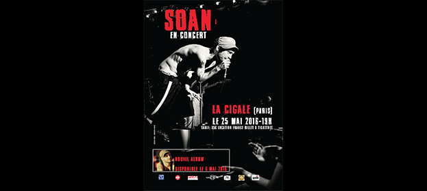 La Cigale - Paris - SOAN
