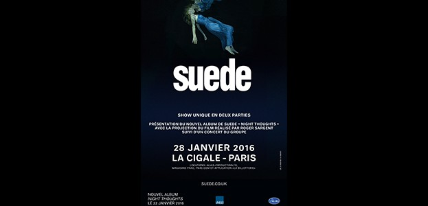 La Cigale - Paris - SUEDE