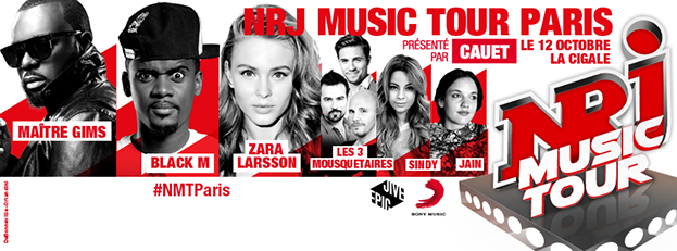 NRJ MUSIC TOUR PARIS