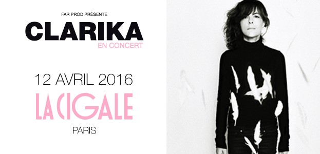 La Cigale - Paris - CLARIKA