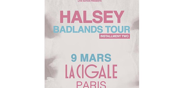 La Cigale - Paris - HALSEY