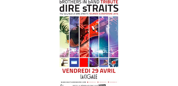 La Cigale - Paris - Brothers in Band Tribute Dire Straits
