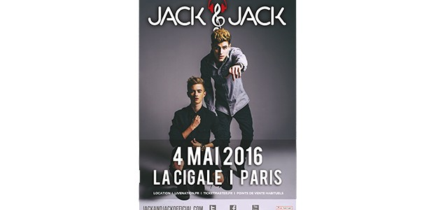 La Cigale - Paris - JACK & JACK