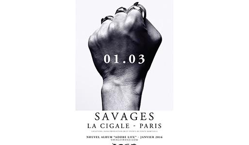 La Cigale - Paris - SAVAGES