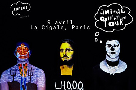 La Cigale - Paris - ANIMAL COLLECTIVE