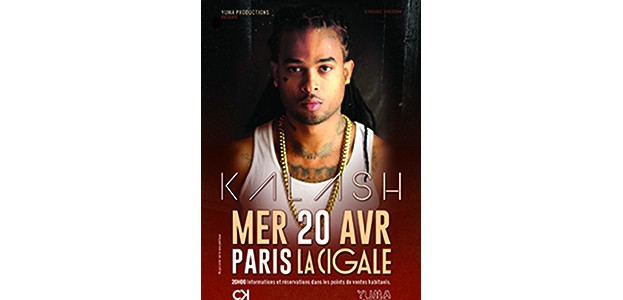 La Cigale - Paris - KALASH