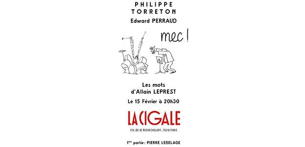 La Cigale - Paris - PHILIPPE TORRETON
