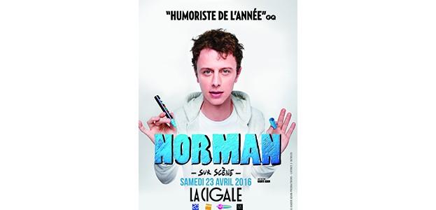 La Cigale - Paris - NORMAN