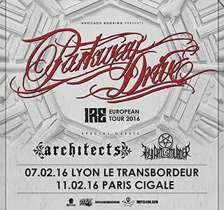 La Cigale - Paris - PARKWAY DRIVE