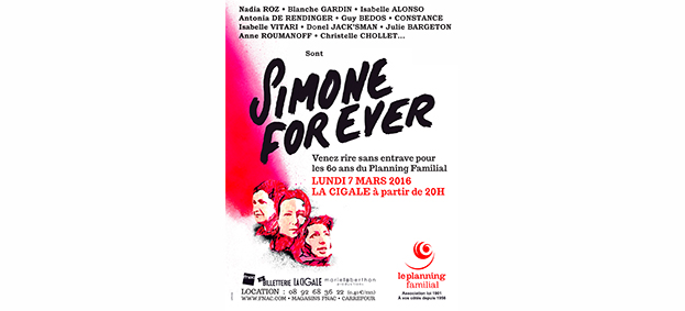La Cigale - Paris - SIMONE FOR EVER