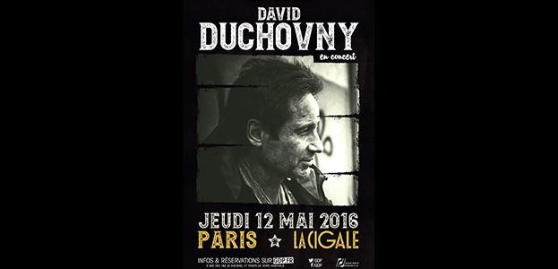 La Cigale - Paris - DAVID DUCHOVNY