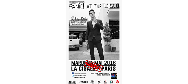 La Cigale - Paris - PANIC! AT THE DISCO