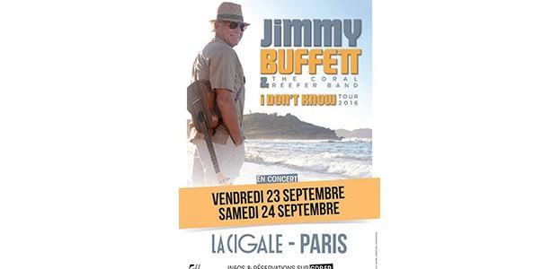 La Cigale - Paris - JIMMY BUFFET