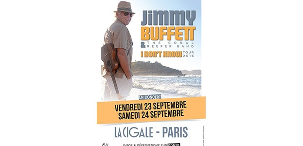 La Cigale - Paris - JIMMY BUFFETT