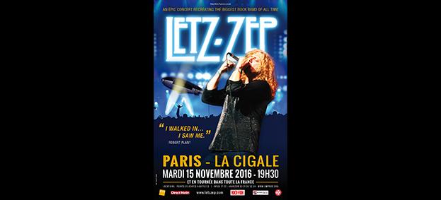 La Cigale - Paris - LETZ ZEP