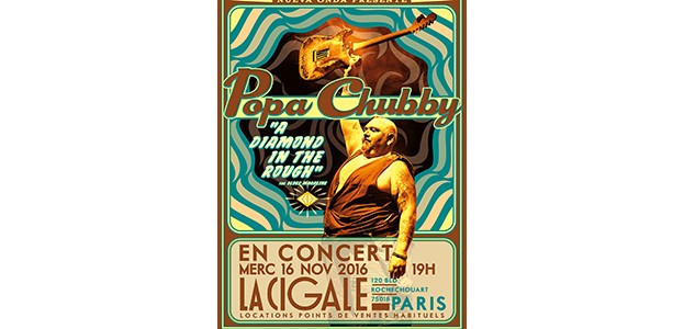 La Cigale - Paris - POPA CHUBBY