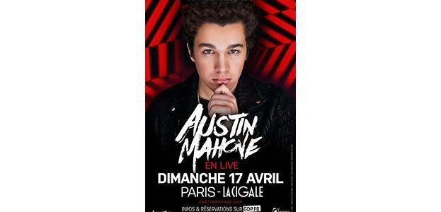 La Cigale - Paris - AUSTIN MAHONE